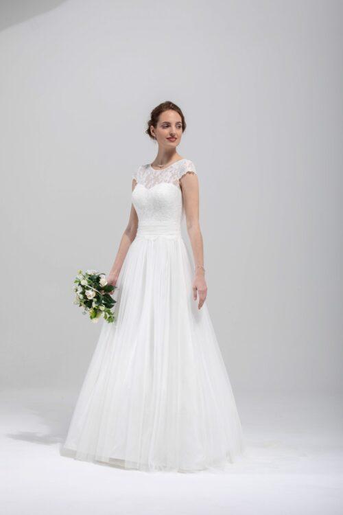 Brudekjole Samuella - Køb din brudekjole hos Unique Kjoler
